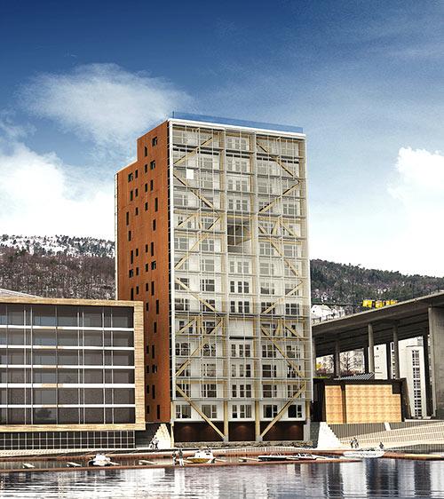 Edificios ecológicos - Treet
