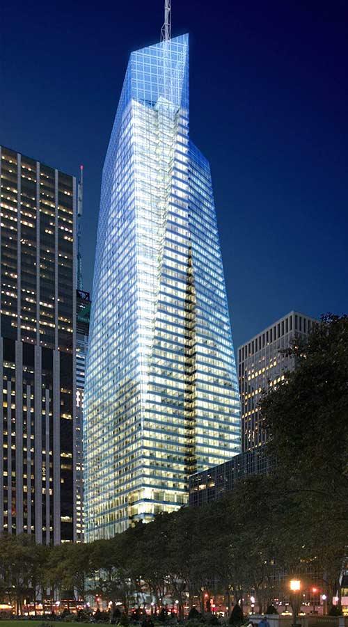 Edificios sostenibles - Bank of America Tower