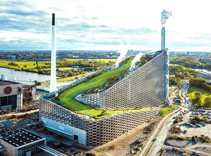 Edificios sostenibles - CopenHill