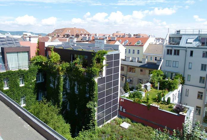 Edificios sostenibles - Hotel Boutique Stadthalle