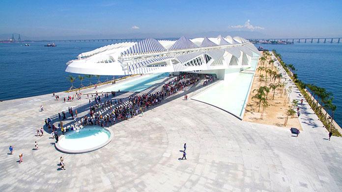 Edificios sostenibles - Museo del Mañana