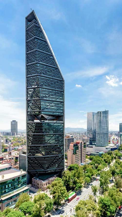 Edificios sostenibles - Torre Reforma
