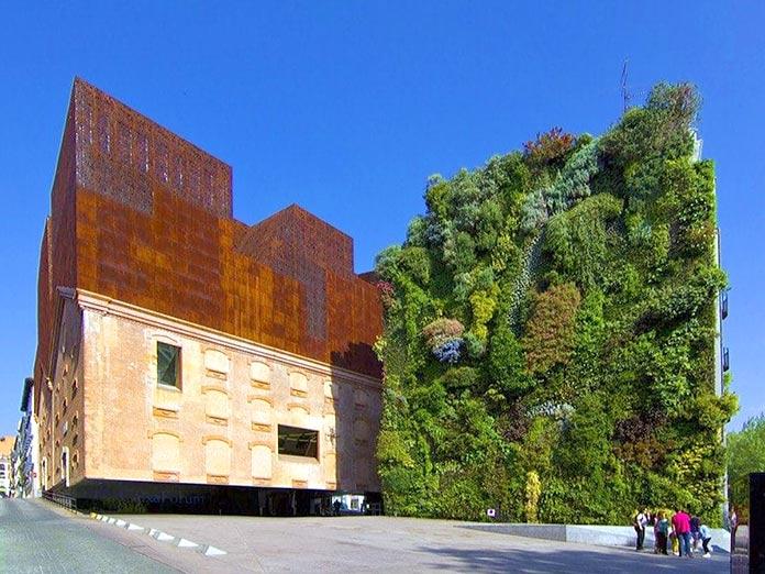Edificios verdes - CaixaForum