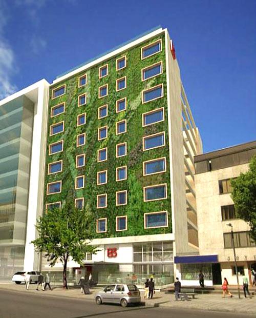 Edificios verdes - Hotel B3 Virrey