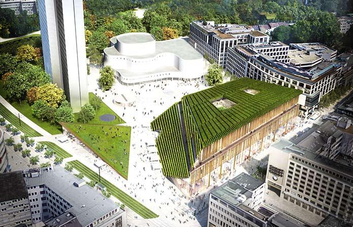 Edificios verdes - Kö-Bogen II