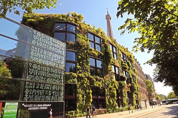 Edificios verdes - Museo Quai Branly
