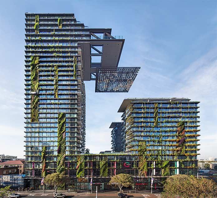 Edificios verdes - One Central Park