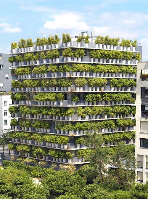 Edificios verdes - Tower Flower