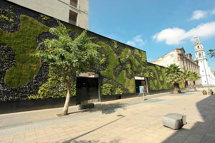 Edificios verdes - Universidad del Claustro de Sor Juana