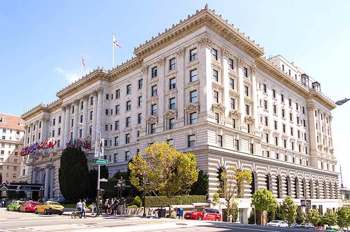 Famous buildings rebuilt after tragedies - Hotel Fairmont San Francisco