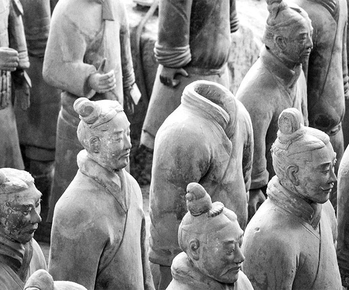 El ejército de terracota de Xian