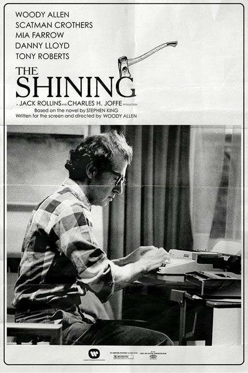 """Cartel de """"The Shining"""" (1981)"""