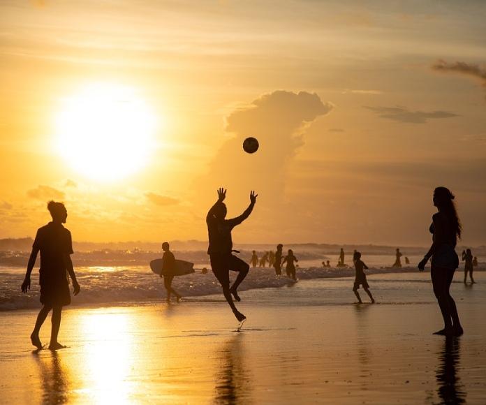 El Voleyball es el deporte favorito para el verano