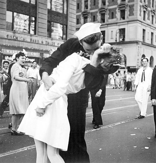 El beso en Times Square de Victor Jorgensen