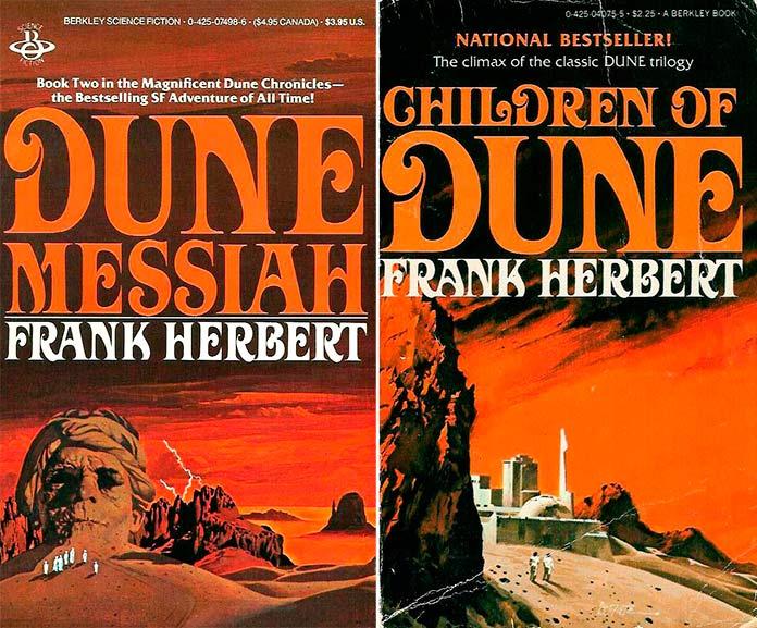 """""""El mesías de Dune"""" e """"Hijos de Dune"""""""
