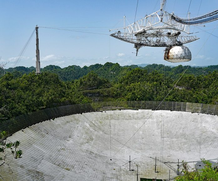 El observatorio de Arecibo vuelve a la vida tras el huracán María