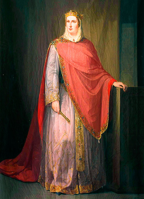 Ermesinda, reina consorte de Asturias