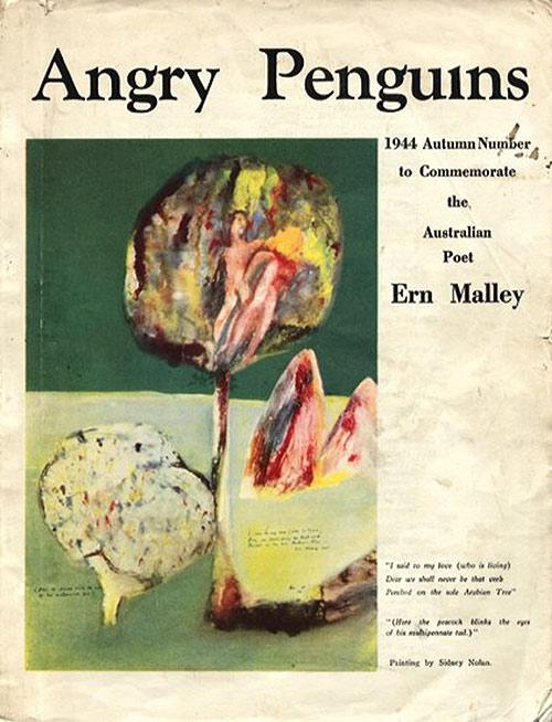 dición de otoño de 1944 de Angry Penguins dedicada a la poesía de Ern Malley.