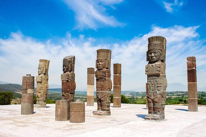 Escritura azteca - Orígenes