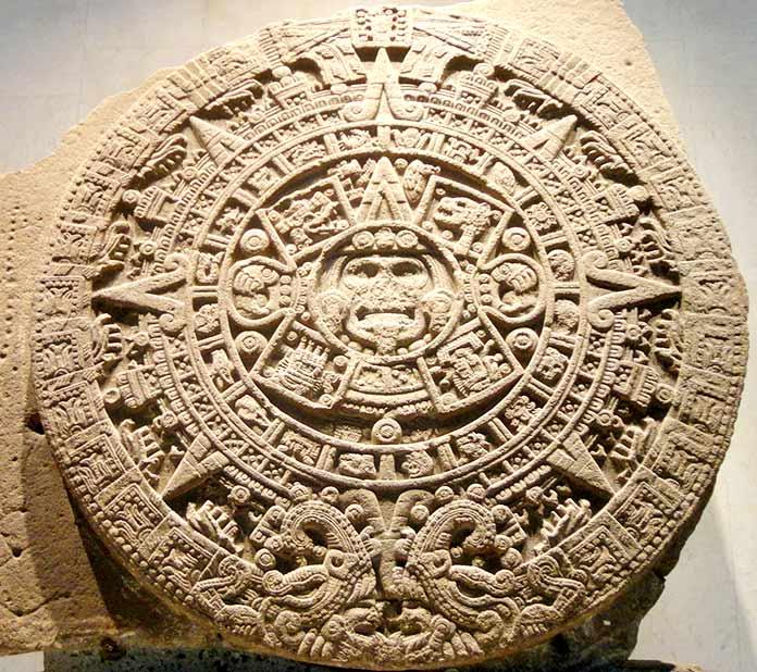 Escritura azteca - Calendario Azteca