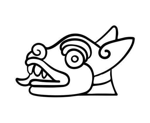 Escritura azteca - Símbolos de muerte