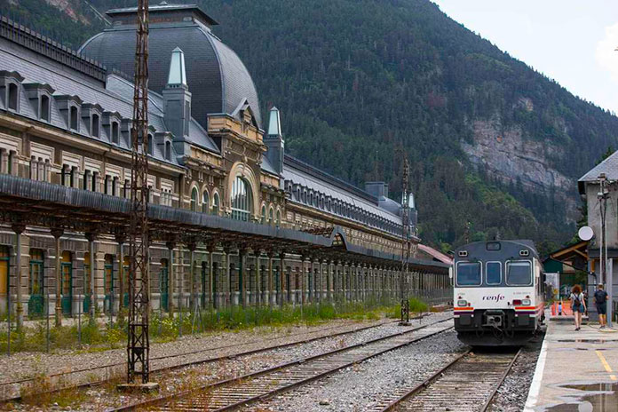Estación de Canfranc (Huesca)