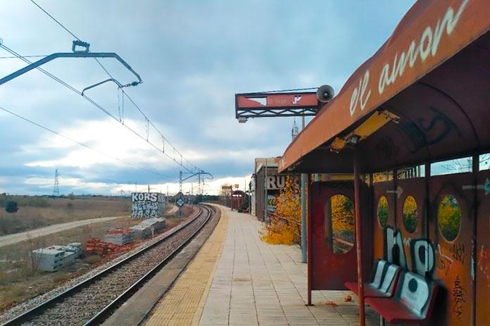 Estación de Tren El Tejar (Madrid)