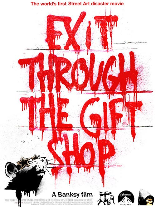 Cartel de Exit Through the Gift Shop