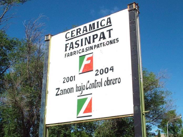 FaSinPat, historia de la primera fábrica controlada por trabajadores en Argentina - Logo de FaSinPat
