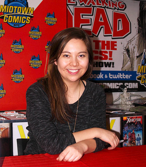 Fiona Staples, ilustradora de Saga