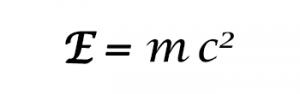 Fórmula de la energía de Einstein