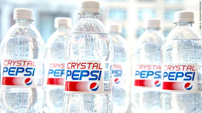 Fracasos: Pepsi Crystal