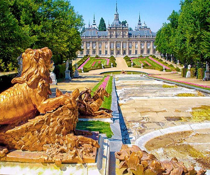 Fuente de la Cascada Nueva, Palacio de San Ildefonso.