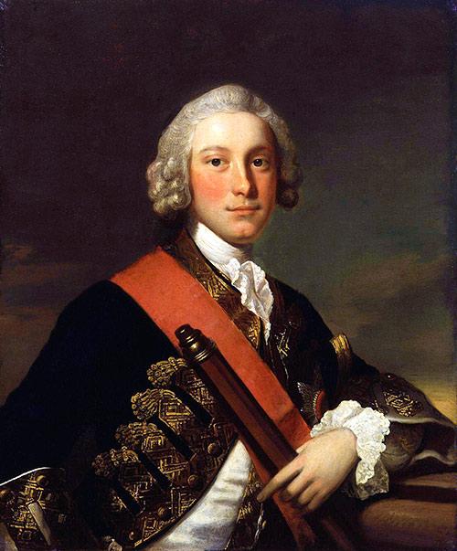 Retrato de Sir George Pocock