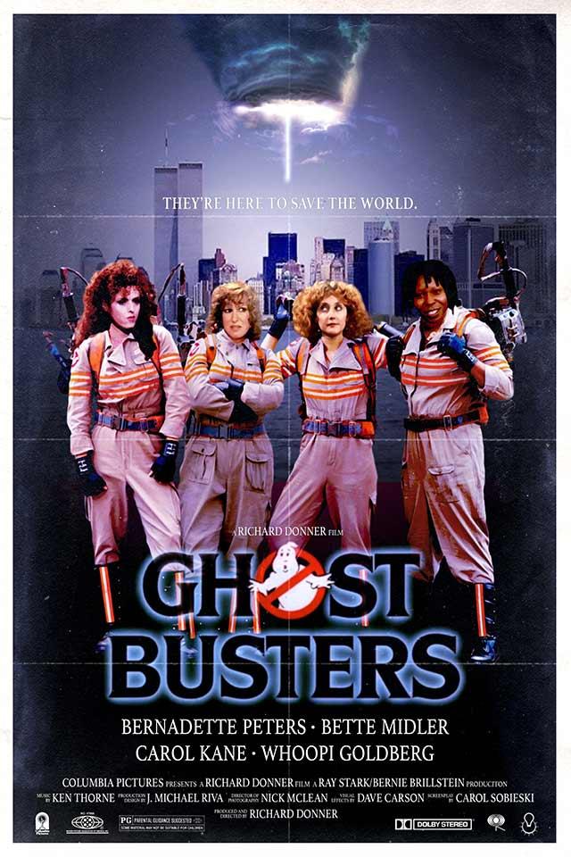 "Cartel de ""Ghostbusters"" (1984)"