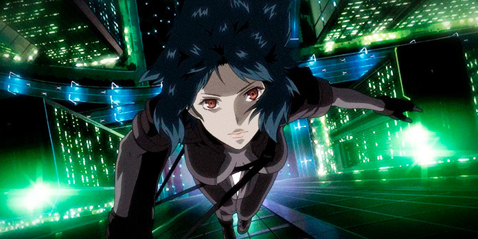 Motoko Kusanagi, protagonista de Ghost in the Shell