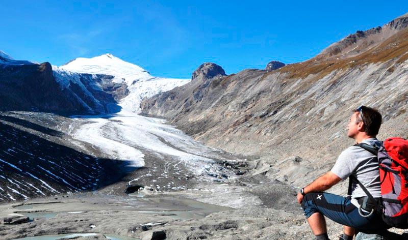 Glaciar Pasterze en Johannisberg