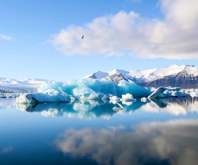 Glaciares derretidos: impactantes imágenes del derretimiento de glaciares en los últimos años