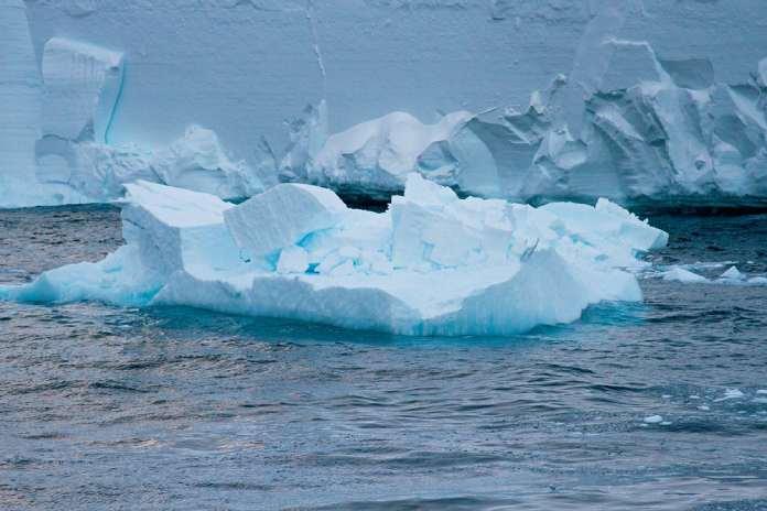 Glaciares derretidos - Barrera de hielo Ross