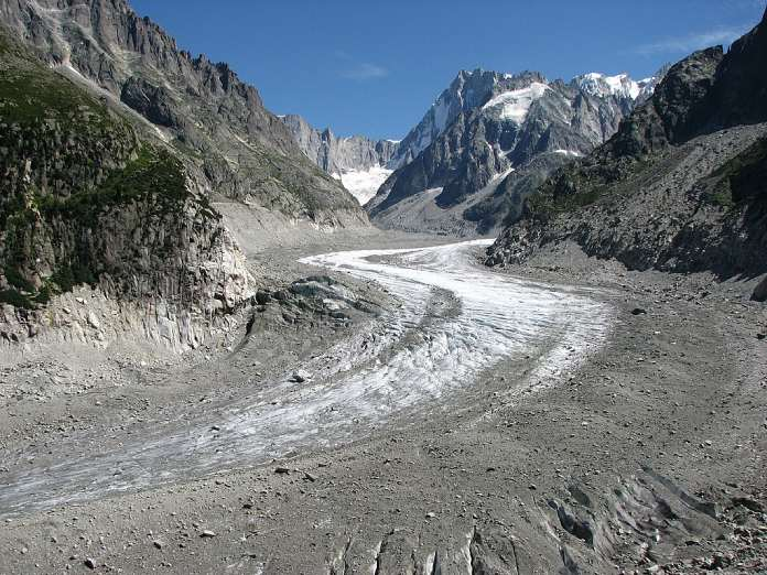 Glaciares derretidos - Mer de Glace