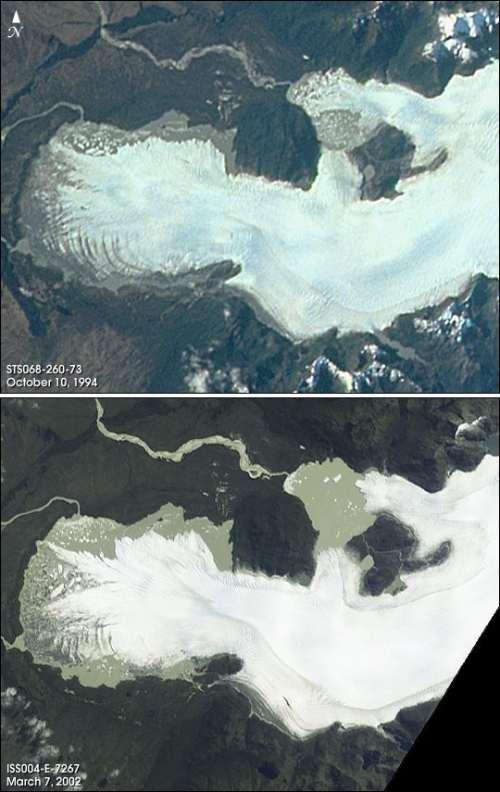 Glaciares derretidos - San Quintín