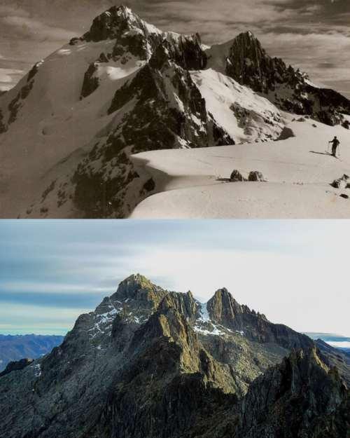 Glaciares derretidos - Sierra Nevada de Mérida