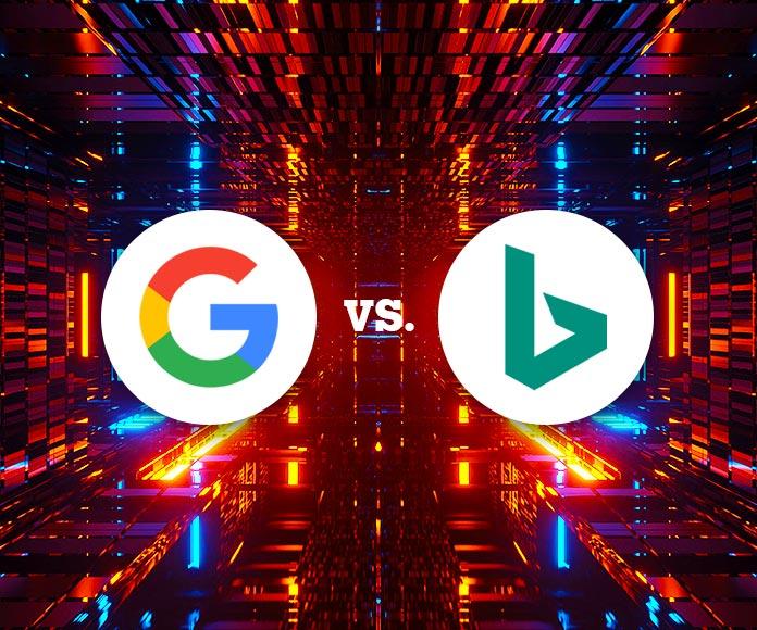 Diferencias y similitudes entre Google y Bing