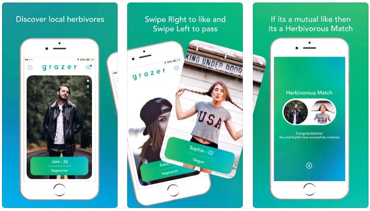 Apps para ligar con veggies - Gracer