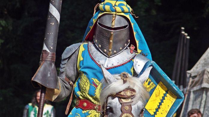 Guerreros medievales: caballero medieval