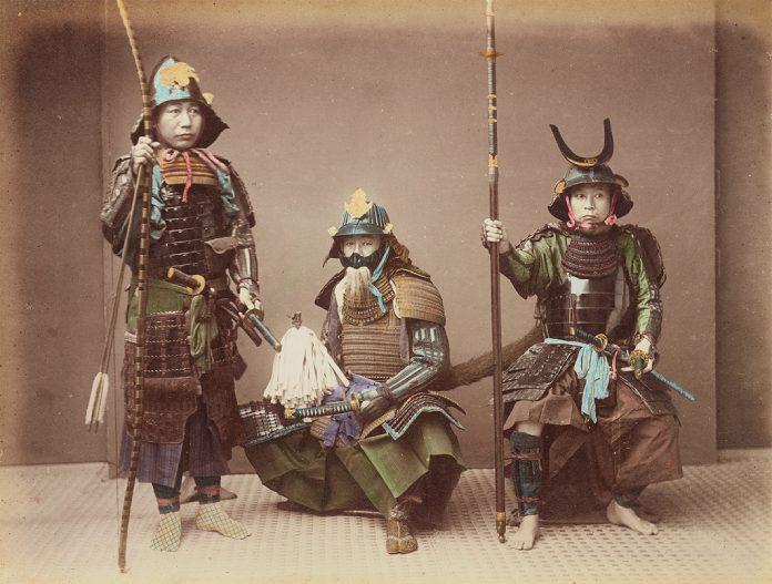 Guerreros medievales: samurais feudales