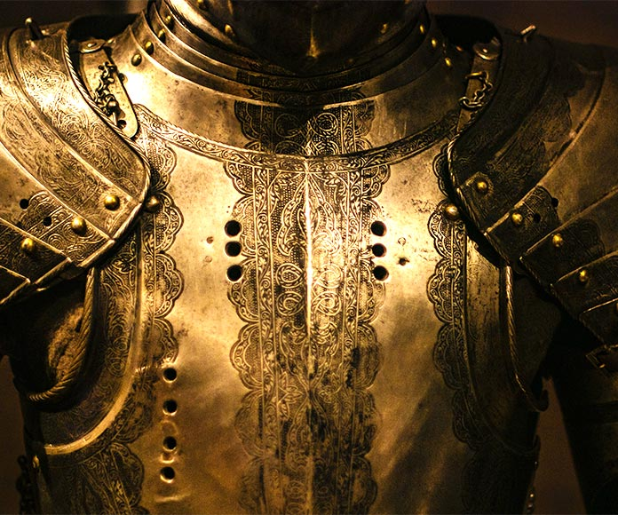 Guerreros medievales: 30 caballeros medievales