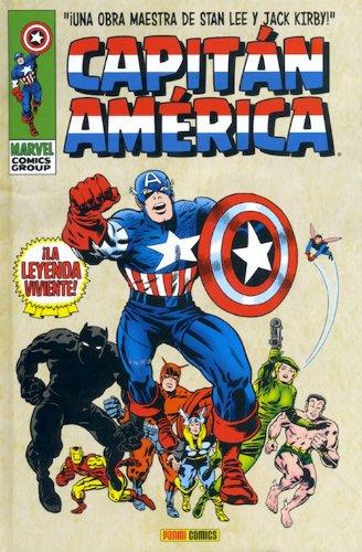 Historietas famosas - Capitán América