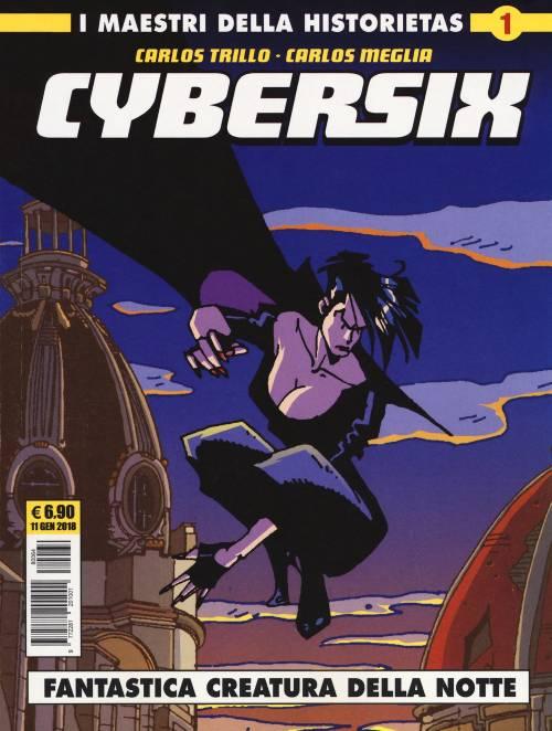 Historietas famosas - Cybersix