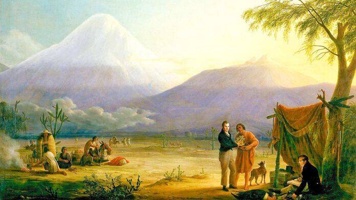 Joseph Kosuth: las montañas de Humboldt